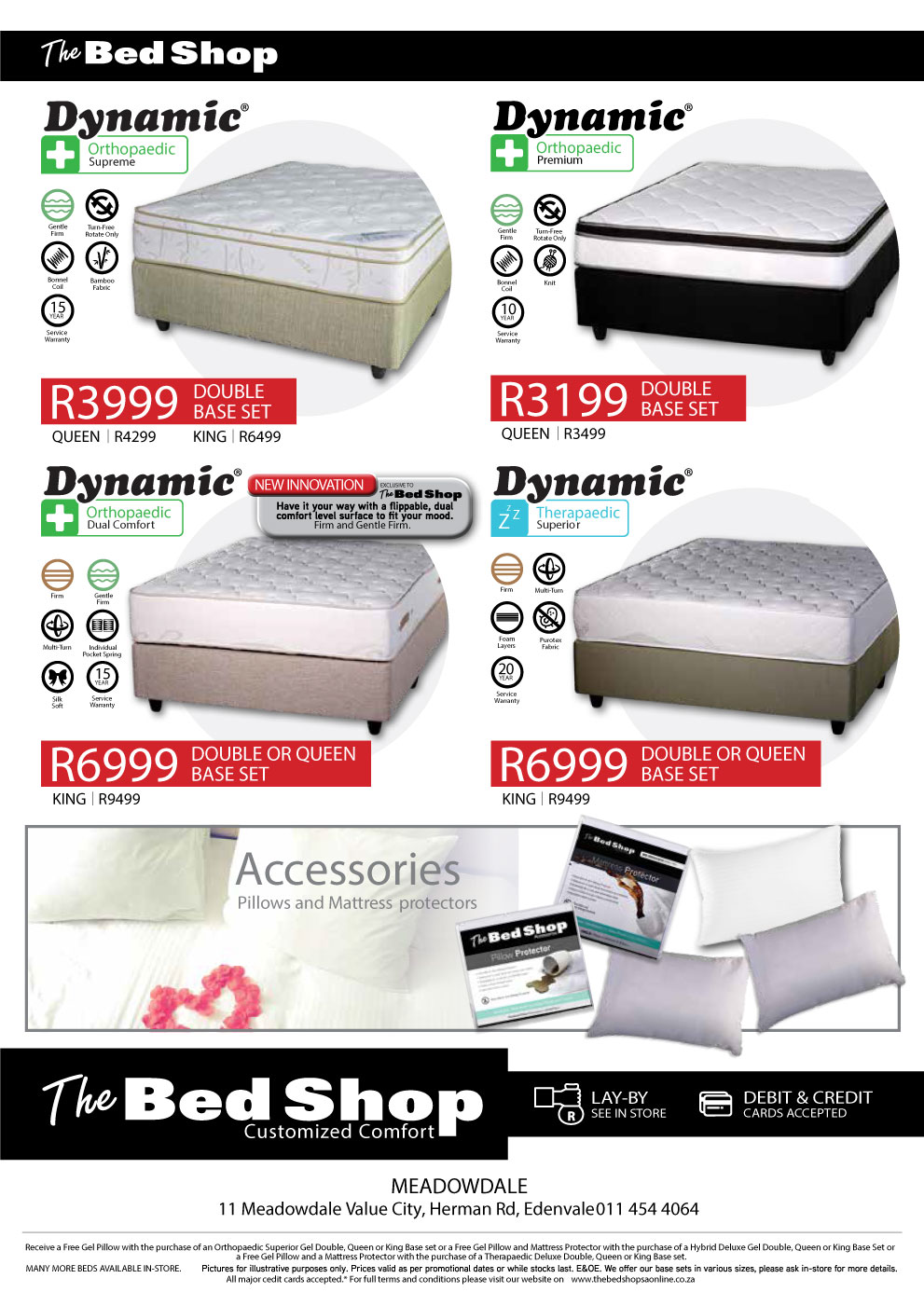 amazing deals for quality bed bases and mattress sets Roodepoort